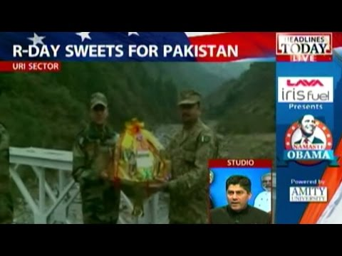 R-Day: Indian soldiers greet Pak counterparts with sweets