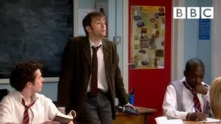 David Tennant is Catherine Tate's new English teacher! | Comic Relief - BBC