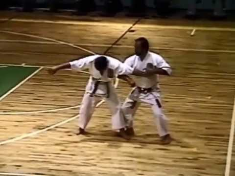 Martinez Isshinryu Karate / Tuite Demo 1990 - Fort Buchanan, Puerto Rico
