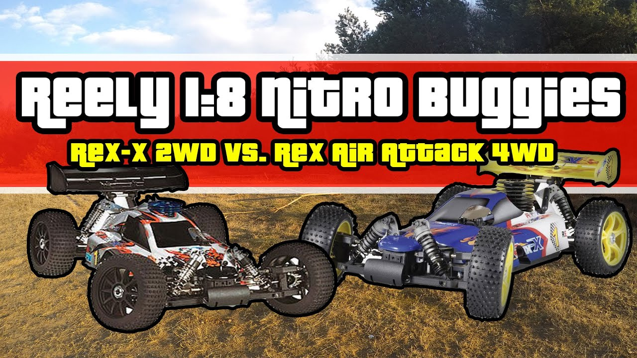 Reely Air Attack 2wd 2wd vs Rex Air Attack 4wd