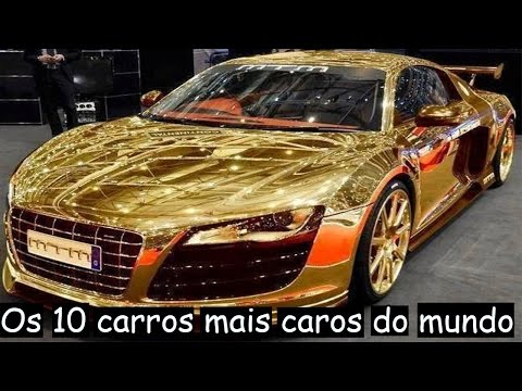 Os 10 Carros mais caros do mundo #TOP10