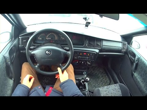 1997 Opel Vectra B 1 8 City Driving
