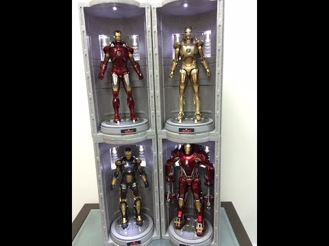 Hot Toys NEW House Party Protocol Iron Man Hall of Armor