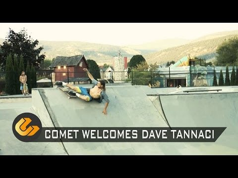 Comet Skateboards // Welcomes Dave Tannaci