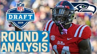 Round 2 Player Highlights & Pick Analysis | 2019 NFL Draft