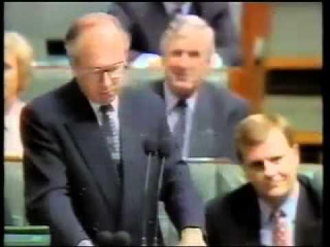 John Howard vs Paul Keating  - 1996