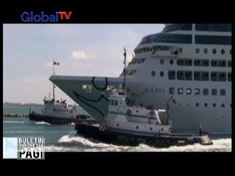 Setelah absen lebih dari 50 tahun, kapal pesiar Amerika Serikat berlayar ke Kuba - BIP 03/05