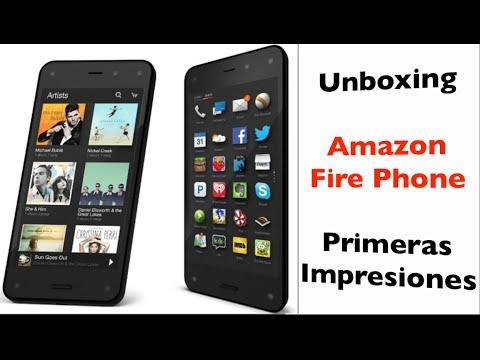 Unboxing Amazon Fire Phone   Primeras Impresiones