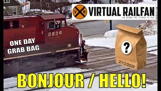 Virtual Railfan's good ol' one day Grab Bag!   February 13, 2020.