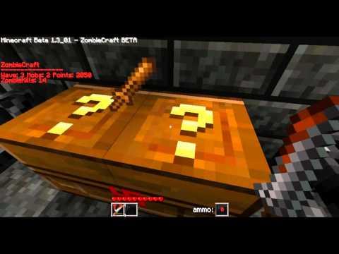 ZombieCraft Minecraft Nazi Zombie Gameplay & Commentary