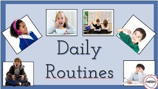 Daily Routines, English Language Videos