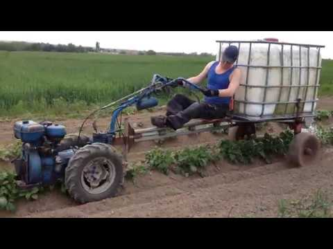 Nibbi AE 11-New2017-Homemade watercraft. 600 liters (160 gallons) Watering potatoes