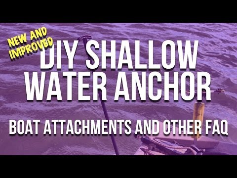 DIY Shallow Water Anchor Mounts - How To Use Your Anchor Pins