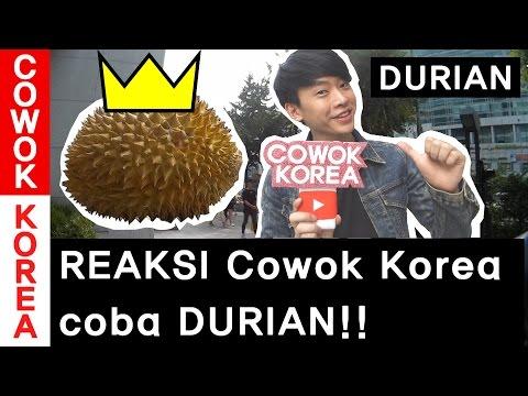 REAKSI Cowok Korea coba DURIAN!!   Korea Vlog 5-2(ep.DURIAN REACTION.2)