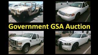Government GSA Wholesale Auction DEALER only ~ CHEAP Cars!!