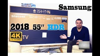 2018 4K Samsung 55inch 138cm HDR TV Quad Core Ultra HD FULL REVIEW