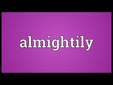 Header of Almightily