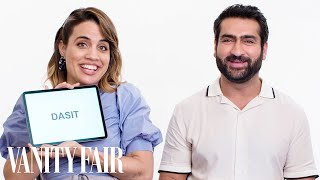 Download Song Kumail Nanjiani & Natalie Morales Teach You Urdu and Miami Spanish Slang | Vanity Fair Free StafaMp3
