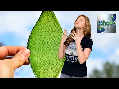 Man-made Leaves Could Provide Oxygen for Long-Term Space Travel - The Know