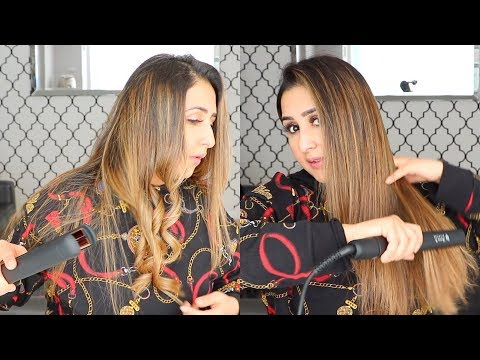 HOW TO: WAVE/CURL & STRAIGHTEN YOUR HAIR WITH A FLAT IRON (2019)
