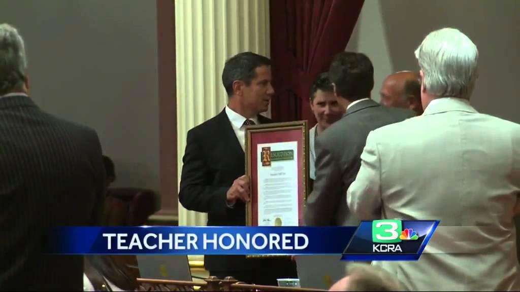 Granite Bay teacher honored at state Capitol