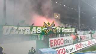Greuther F Rth Vs Werder Bremen 27 10 2012 Pyro