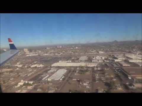 January 2012 US Airways Express CRJ 200 Landing Phoenix, AZ coming from El Paso, TX RWY 7L