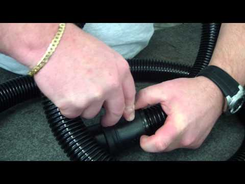 How to change a vacuum hose machine end