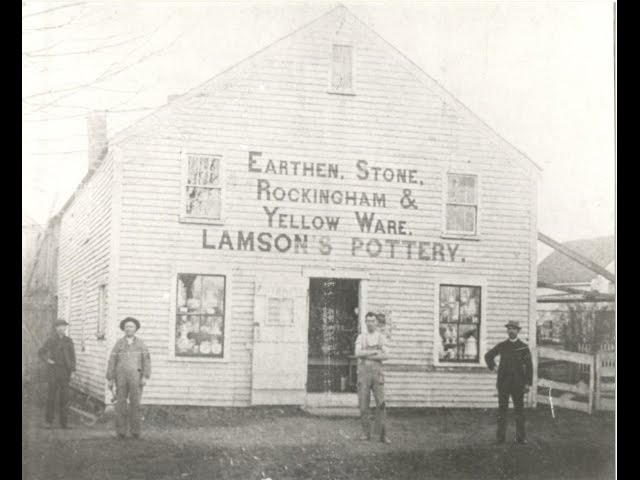 Exeter History Minute - Lamson Pottery