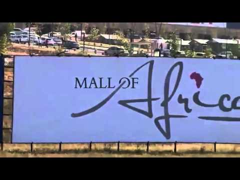 Largest Mall in Africa opens and thousands of people visit