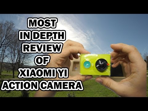 Xiaomi YI Sports Action Camera Review video, audio, photo test