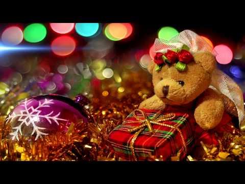 Поздравление с Рождеством 2017. Сказочно красивая видео открытка