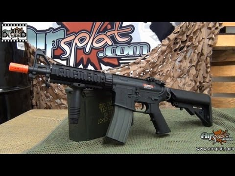 AirSplat OD - Ares M4 CQB Airsoft Electric AEG Rifle Ep 106