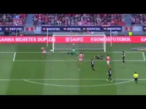 Tiki-taka do Benfica dá o 2º Golo de Lima contra a AAC