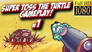 Super Toss The Turtle Walkthrough: Pt 1 - New Funny Android Game! (PC Gameplay Playthrough) - GPV247