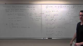 professor leonard differential equations