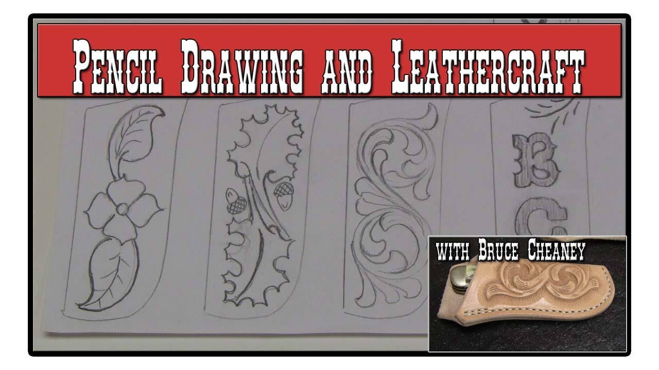 Pattern Drawing Tutorial Drawing Tutorial Leather