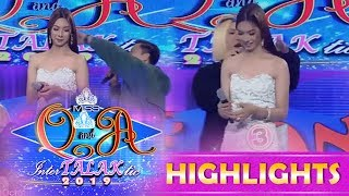 It's Showtime Miss Q & A: Vice Ganda and Jhong are surprised to see what's on the contestant's back