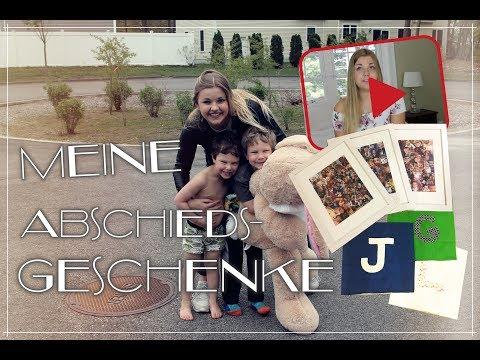 Meine Abschiedsgeschenke   Video für meine Gastfamilie + 2 DIYs   AUPAIR USA