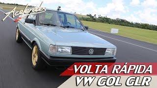 VW GOL GLR - VOLTA RÁPIDA #35 COM RUBENS BARRICHELLO   ACELERADOS