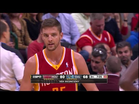 Chandler Parsons 21 Pts 11 Asissts at Mavs 2013.11.20