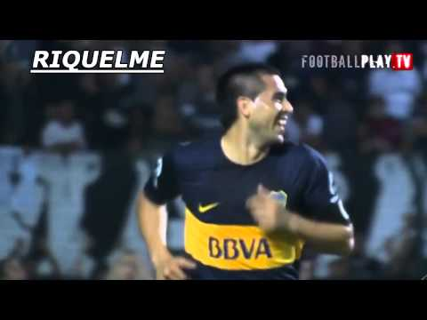 Le but exceptionnel de Riquelme