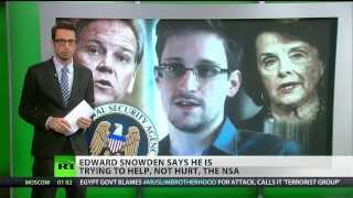 Edward Snowden, Speaks to his Critics  12/24/13