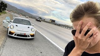 I wrecked my GT3RS