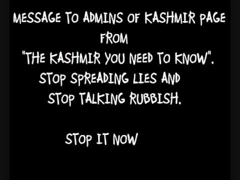 Reply to Nasir John's Video By A Kashmiri Muslim