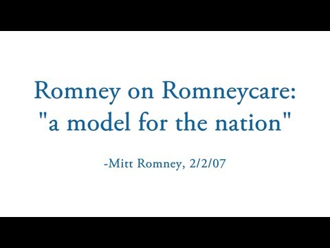 The Anniversary of Romneycare