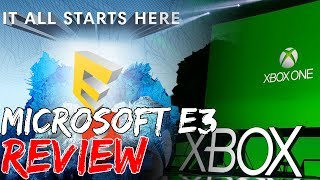 Microsoft E3 Press Conference Review | The Gaming VUE