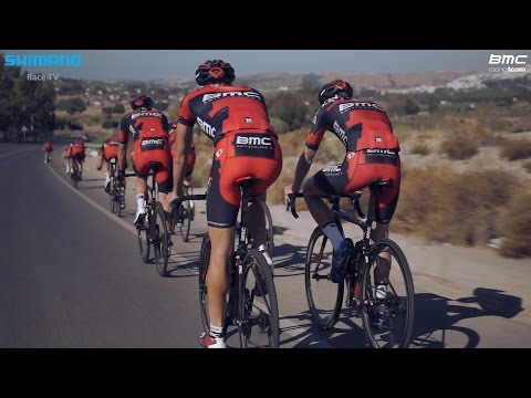 Training ride with the BMC Racing Team in Spain