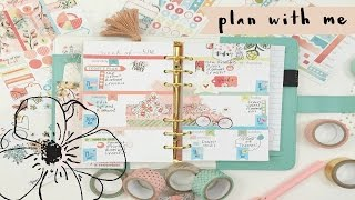 Plan with Me-May 16th-22nd Cocoa Daisy Planner Kit