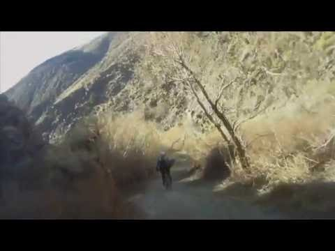 Black Rock Canyon Mountain Bike Downhill Trail White Mountains to Bishop, CA